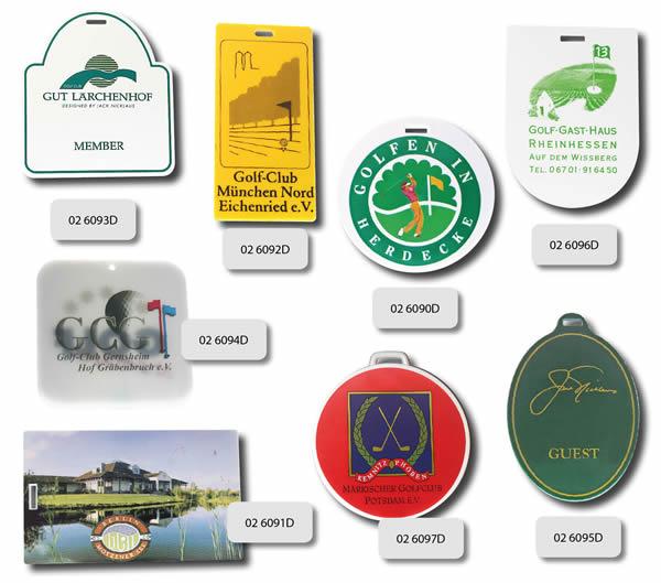 golfclub anhaenger Golfartikel Greenfee Anhänger