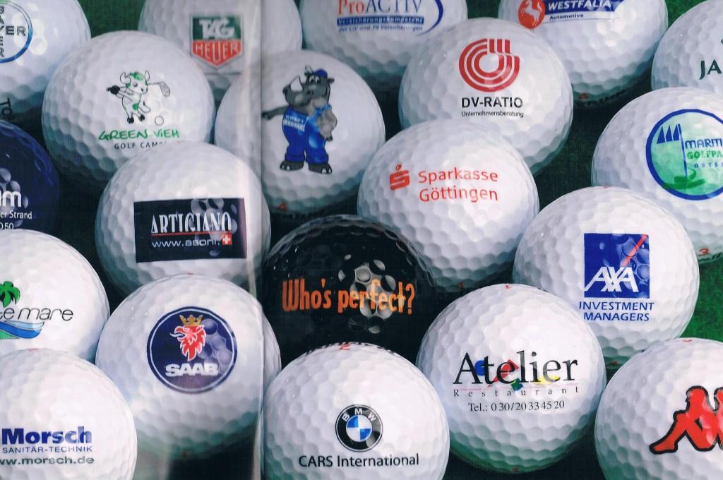 Golf Logobälle